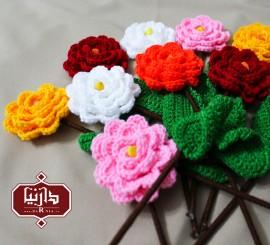 گل بافتنی