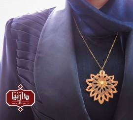 گردن آویز شاه عباسی