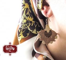 گوشواره گل پنبه ای