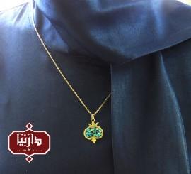 آویز فیروزه کوب انار