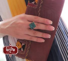 انگشتر فیروزه کوب ترنج