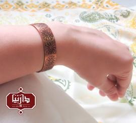 دستبند مسی لوتوس