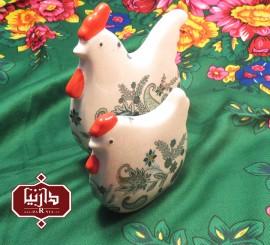 مرغ و خروس سرامیکی گالری فرجام
