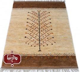 گبه دستباف عشایری طرح درختی