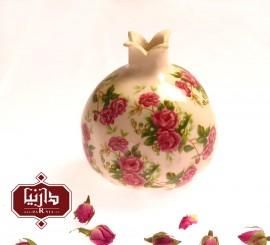انار گل سرخی ساده سرامیکی 1143
