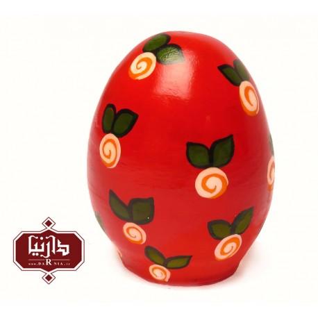 تخم مرغ رنگی قرمز