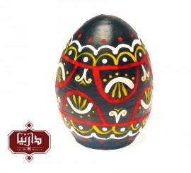 تخم مرغ سفالی رنگی سبز