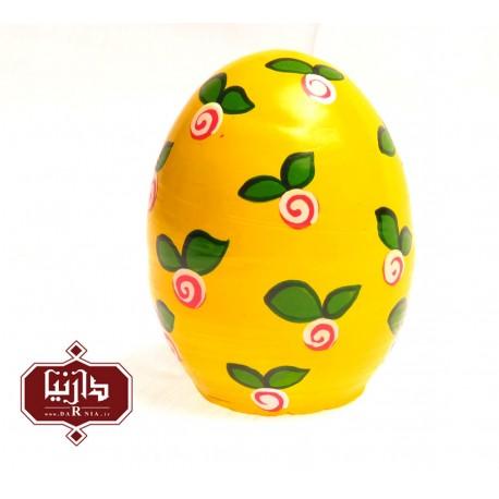 تخم مرغ رنگی صورتی