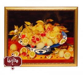 تابلو ویترای ظرف میوه