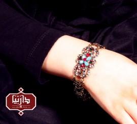 دستبند گل چهار پر