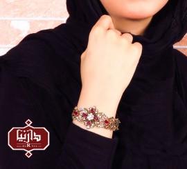 دستبند گل چهار پر 1164