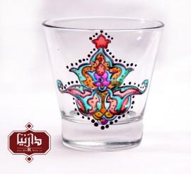 شمعدان ویترای طرح گل شاه عباسی