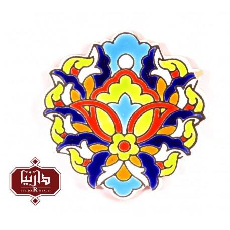 تابلو گل شاه عباسی هفت رنگ