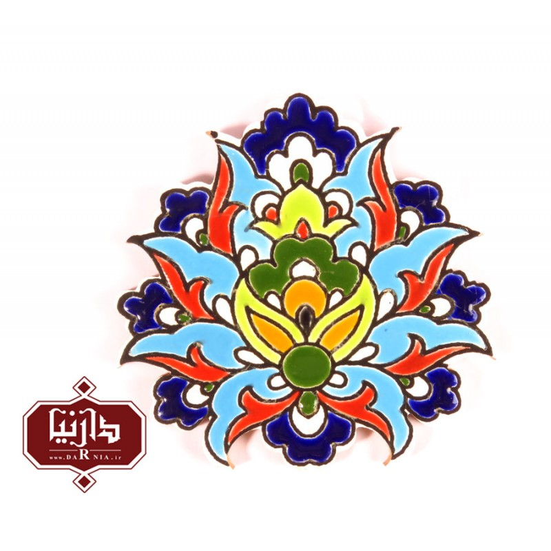 مدل مانتو می تابلو گل شاه عباسی هفت رنگ