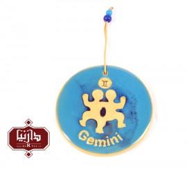 آویز سفالی ماه خرداد