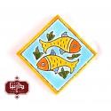 مگنت سفالی ماهی