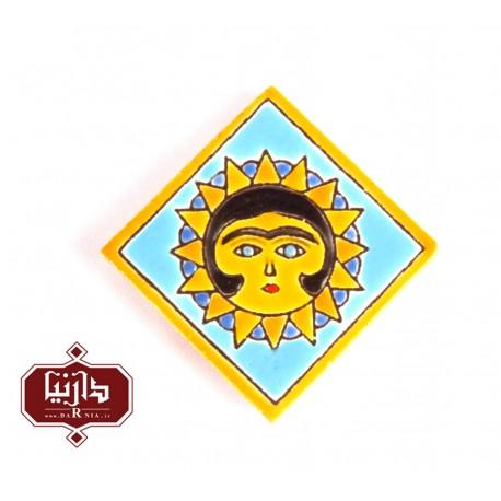 مگنت سفالی خورشید