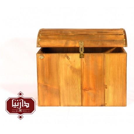 صندوقچه مستطیل چوبی