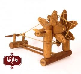 چرخ نخ ریسی چوبی