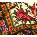 روسری ساتن چاپ دیجیتال طرح شکار