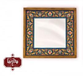 قاب آینه چوبی نگارگری