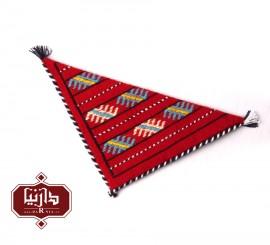 آویز گلیمی سنتی سه گوش