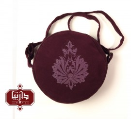 کیف سنتی الیاف طبیعی چاپ قلمکار
