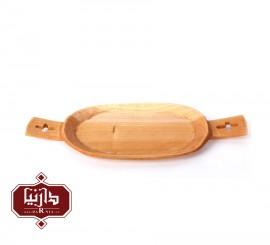 سینی چوبی گیل چو طرح 1