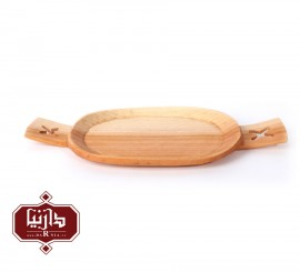 سینی چوبی گیل چو طرح 2