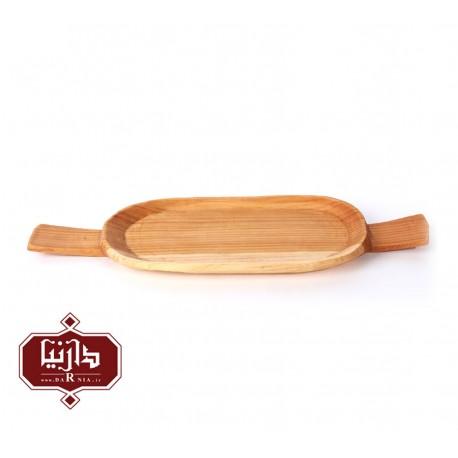 سینی چوبی گیل چو طرح 4