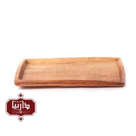 سینی چوبی گیل چو مدل لبه دار