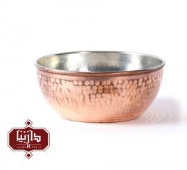 کاسه مسي زنجان اثر نظریان قطر 14 سانتي متر