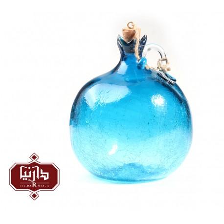 بطری آبگز گالری آبین طرح انار آبی