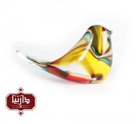 مجسمه شیشه ای گالری آبین طرح پرنده 2