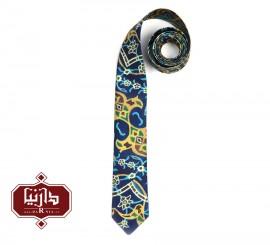 کراوات چاپ دیجیتال طرح کاشی