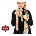 ست شال و کراوات چاپ دیجیتال طرح قالی