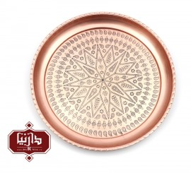 سيني گود مسي زنجان اثر بیات طرح 1 قطر 30 سانتي متر