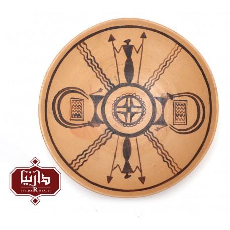 بشقاب منقوش 3