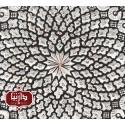 بشقاب مسي قلمزنی شده قطر 40 سانتي متر اثر پورحیدر