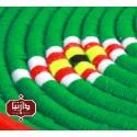 بشقاب دیوارکوب کپوبافی رنگ سبز
