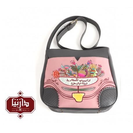 کیف دوشی مهر برند فرفره رنگی