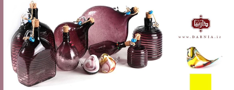 محصولات شیشه ای آبگینه
