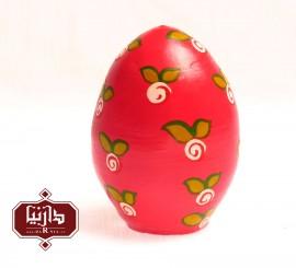 تخم مرغ سفالی رنگی صورتی