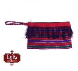 کیف پارچه ای دستبافت طرح سنتی