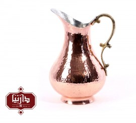 پارچ مسي زنجان اثر نظریان طرح 1