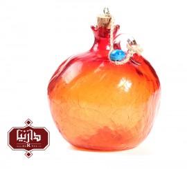 بطری آبگز گالری آبین طرح انار نارنجی