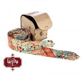 کراوات چاپ دیجیتال طرح قالی
