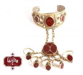 دستبند انگشتر سنتی ترکمن