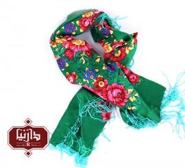 روسری بهار رنگ سبز سایز 150