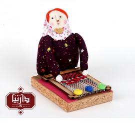 عروسک نانوش قالیباف